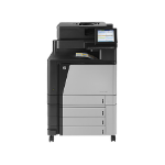 HP LaserJet Enterprise flow M880z Laser A3 Grey