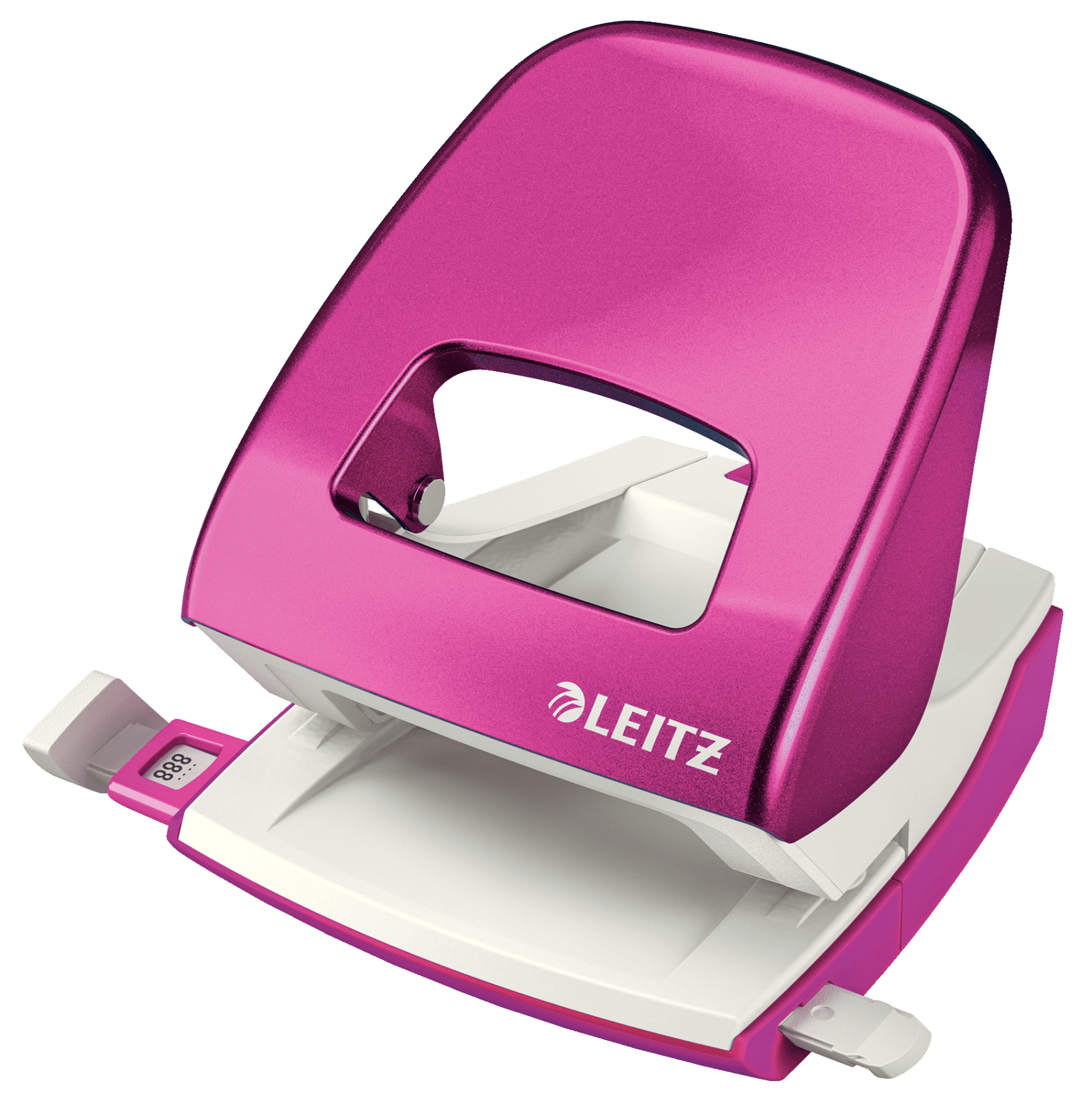 Leitz NeXXt WOW hole punch 30 sheets Pink,White