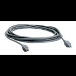 Microconnect FireWire 4P-4P 2m M-M 2m Black firewire cable