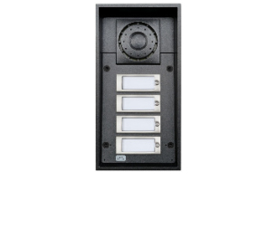 2N Telecommunications 9151104W Black audio intercom system