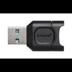 Kingston Technology MobileLite Plus Kartenleser USB 3.2 Gen 1 (3.1 Gen 1) Type-A Schwarz