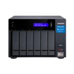 QNAP TVS-672XT NAS Tower Ethernet LAN Black i3-8100T TVS-672XT-I3-8G/36TB-N300
