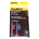 Stanley DUAL MELT GLUE STICKS 10IN PK12