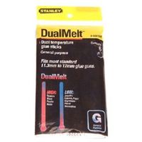 Stanley DUAL MELT GLUE STICKS 10INPK12