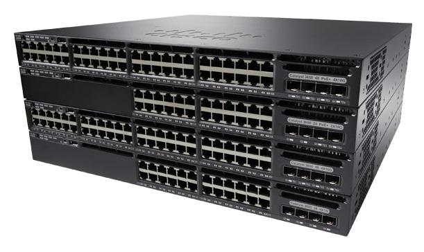 Cisco Catalyst WS-C3650-48TS-L Managed L3 Gigabit Ethernet (10/100/1000) 1U Black network switch