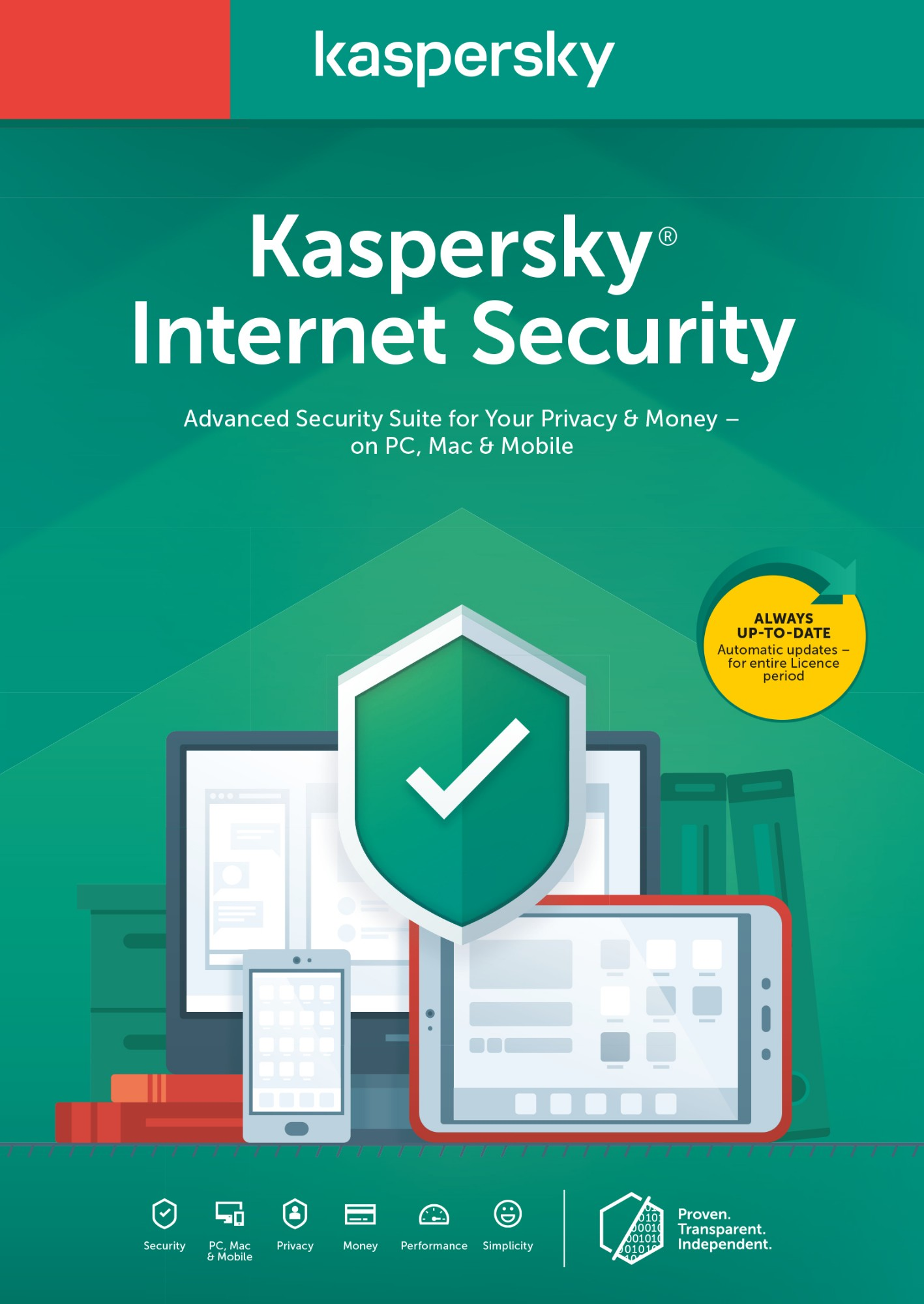 Kaspersky Lab Internet Security 2020 1 licentie(s) 1 jaar Nederlands