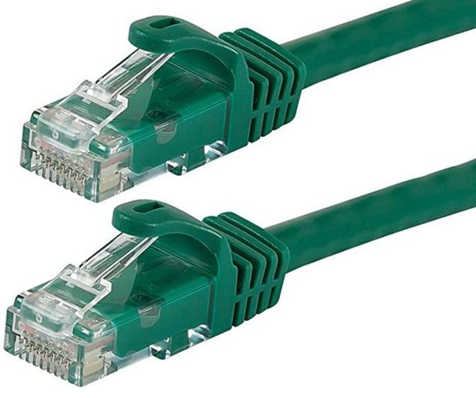 Astrotek CAT6 Cable 25cm/0.25m - Green Color Premium RJ45 Ethernet Network LAN UTP Patch Cord 26AWG-CCA PVC Jacket