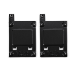 Fractal Design SSD Bracket Kit - Type A - Black FD-ACC-SSD-A-BK-2P