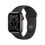 Apple Watch Series 6 OLED 40 mm Grafito 4G GPS (satélite)