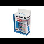 Pilot V-Board Master Whiteboard Marker and Eraser Kit Bullet Tip 2.3mm Line Assorted Colours (Pack 5)