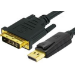 BLUPEAK 1M HDMI MALE TO DVI MALE CABLE (LIFETIME WARRANTY)