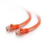 C2G Cat5e Snagless Patch Cable Orange 10m
