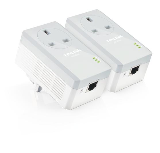 TP-LINK TL-PA4010P KIT V2.20 600Mbit/s Ethernet LAN White 2pc(s)