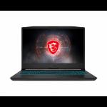 "MSI Crosshair 15 A11UEK-205 Notebook 15.6"" Full HD 11th gen Intel® Core™ i7 16 GB DDR4-SDRAM 512 GB SSD NVIDIA GeForce RTX 3060 Wi-Fi 5 (802.11ac) Windows 10 Home Gray"