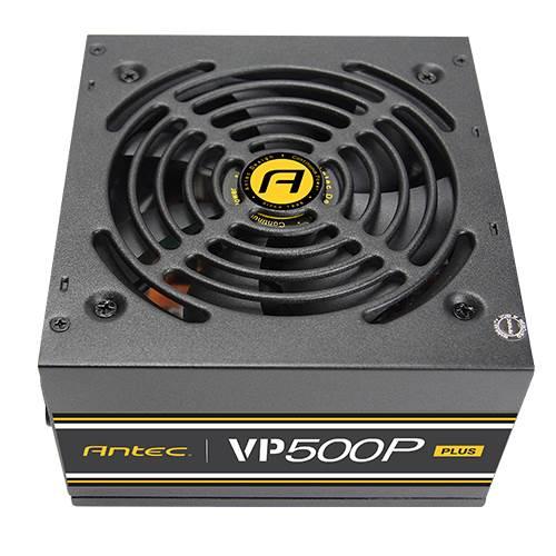 Antec VP500P Plus EC power supply unit 500 W ATX Black