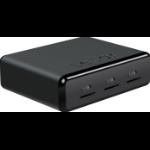 Lexar LRWUR2TBEU USB 3.0 (3.1 Gen 1) Type-A Black card reader