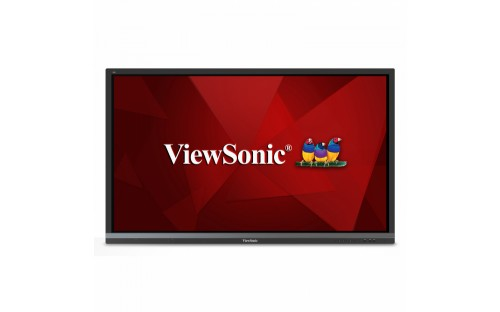 "Viewsonic IFP6550 signage display 165.1 cm (65"") LED 4K Ultra HD Touchscreen Digital signage flat panel Black"