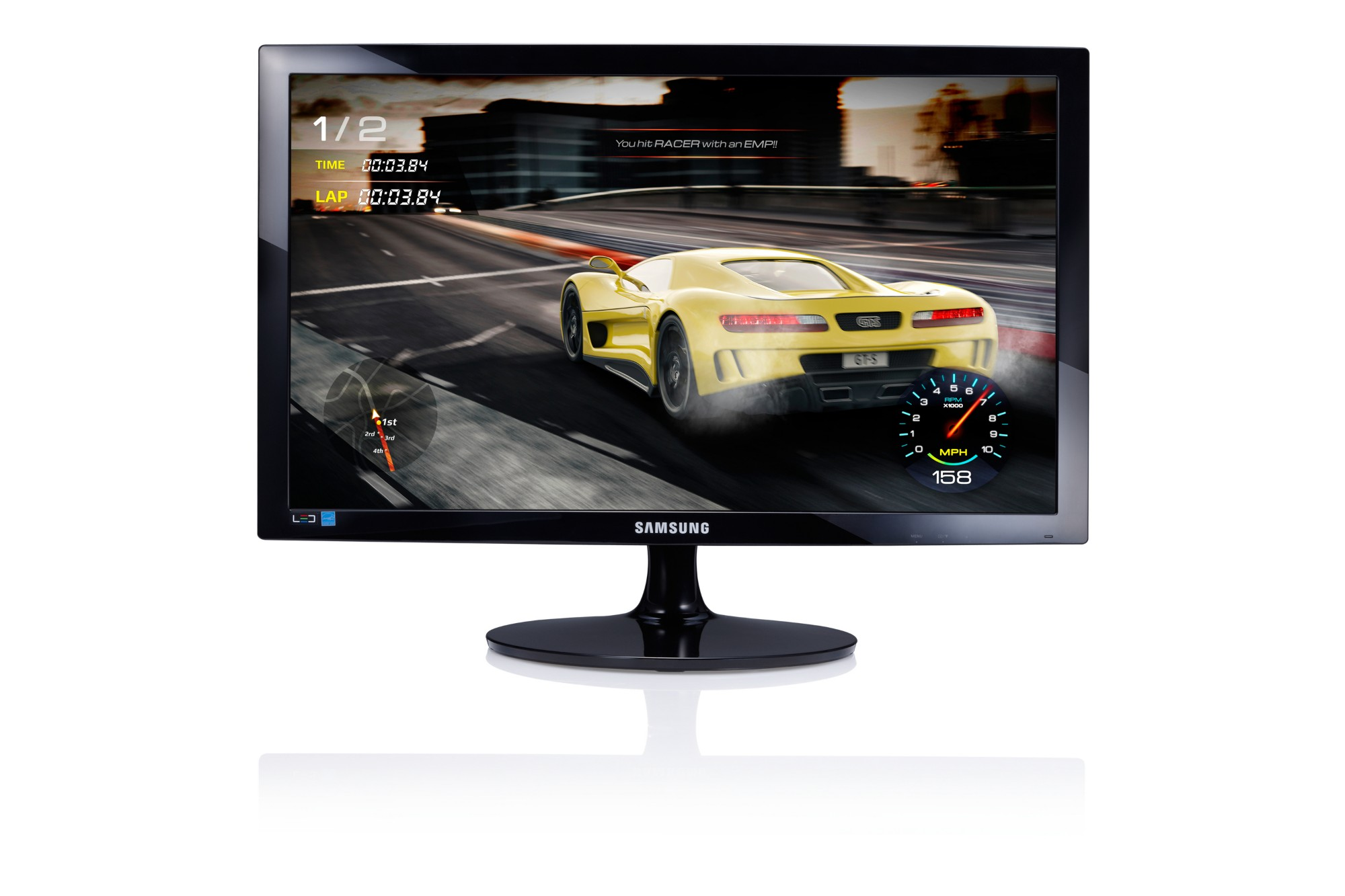 "Samsung S24D330H 24"" Full HD TN Black computer monitor"