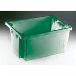 FSMISC STACK/NEST BOX 600X400X300MM GREENEN