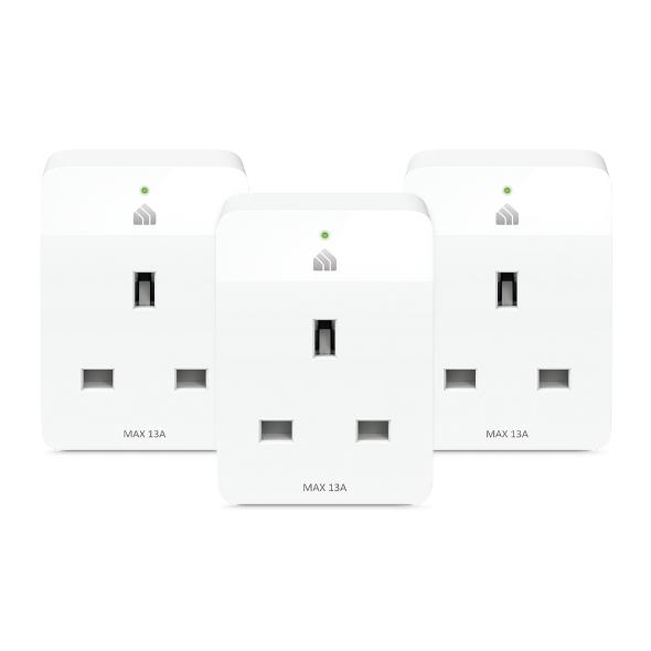 Kasa Smart Wi-Fi Plug Slim (3-Pack)