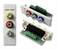 Vision TC2 3PHO 3 x Phono White wire connector