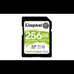 Kingston Technology Canvas Select Plus Flash Speicher 256 GB SDXC UHS-I Klasse 10