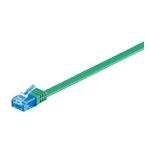 Microconnect V-UTP6A20G-FLAT 20m Cat6a U/UTP (UTP) Green networking cable