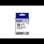 Epson Standard Tape- LK-5WBN Std Blk/Wht 18/9