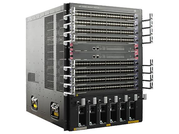Hewlett Packard Enterprise JC612A 14U Zwart netwerkchassis