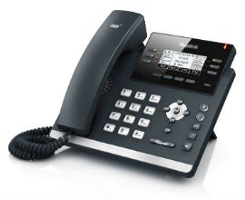 Yealink T42S Skype for Business Edition IP phone Black,Silver Wired handset LCD