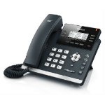 Yealink T42S Skype for Business Edition IP phone Black, Silver Wired handset LCD