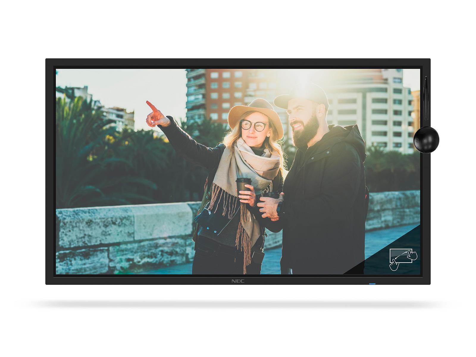 Large Format Display - Multisync C861q Sst (shadowsense) - 86in - 3840x2160 (uhd) - Black