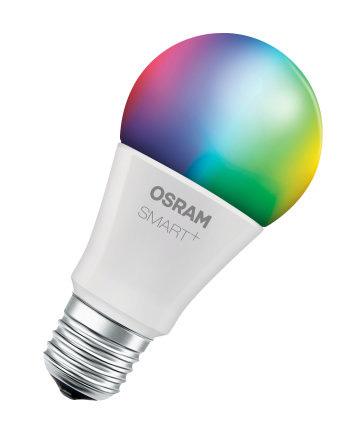 Osram Smart + Classic A 60 RGBW LED bulb 10 W B22d