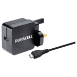 Duracell 2.4A Wall Charger & 1M Micro USB Cable