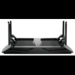 Netgear Nighthawk X6 AC3200 router inalámbrico Tribanda (2,4 GHz/5 GHz/5 GHz) Gigabit Ethernet Negro