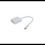Unirise USBC-DVIF-ADPT White USB graphics adapter