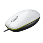Logitech M150 USB Laser Ambidextrous Black,Green,White mice