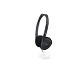 Cyber Acoustics ACM-90B Black Supraaural headphone