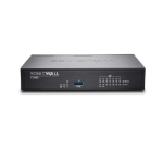 SonicWall TZ400 Wireless hardware firewall 1300 Mbit/s