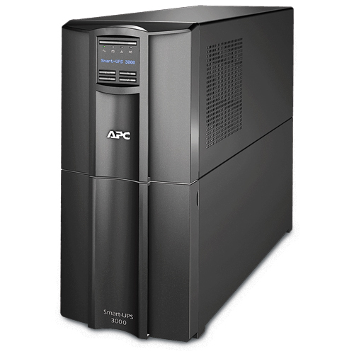 APC Smart-UPS Line-Interactive 3000VA Tower Black
