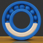MakerBot MP05417 3D printing material Blue, White 2.2 lbs (1 kg)
