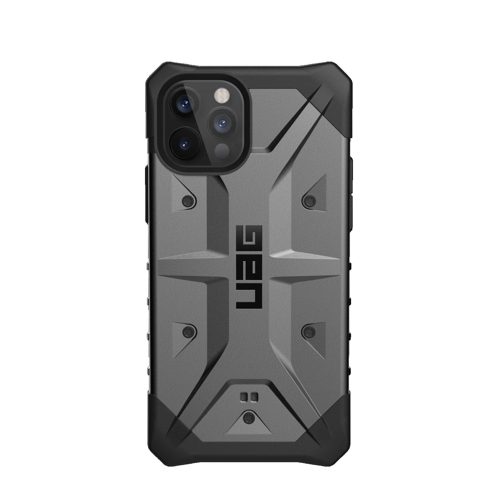 "Urban Armor Gear Pathfinder funda para teléfono móvil 17 cm (6.7"") Negro, Plata"