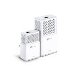 TP-LINK AV1000 Powerline Wi-Fi Kit 1000Mbit/s Ethernet LAN Wi-Fi White 2pc(s) PowerLine network adapter