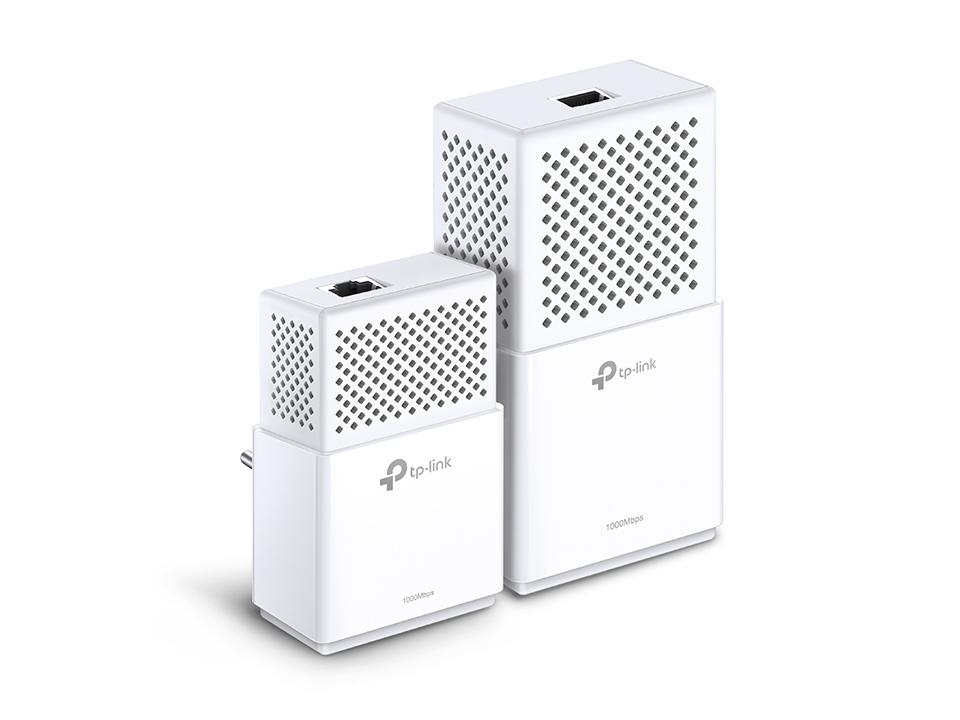 TP-LINK AV1000 Powerline Wi-Fi Kit 1000Mbit/s Ethernet LAN Wi-Fi White 2pc(s) PowerLine network adapter
