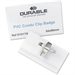 Durable PVC Combi Clip Name Badge
