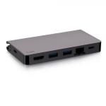 C2G C2G54457 notebook dock/port replicator Wired USB 3.2 Gen 1 (3.1 Gen 1) Type-C Black