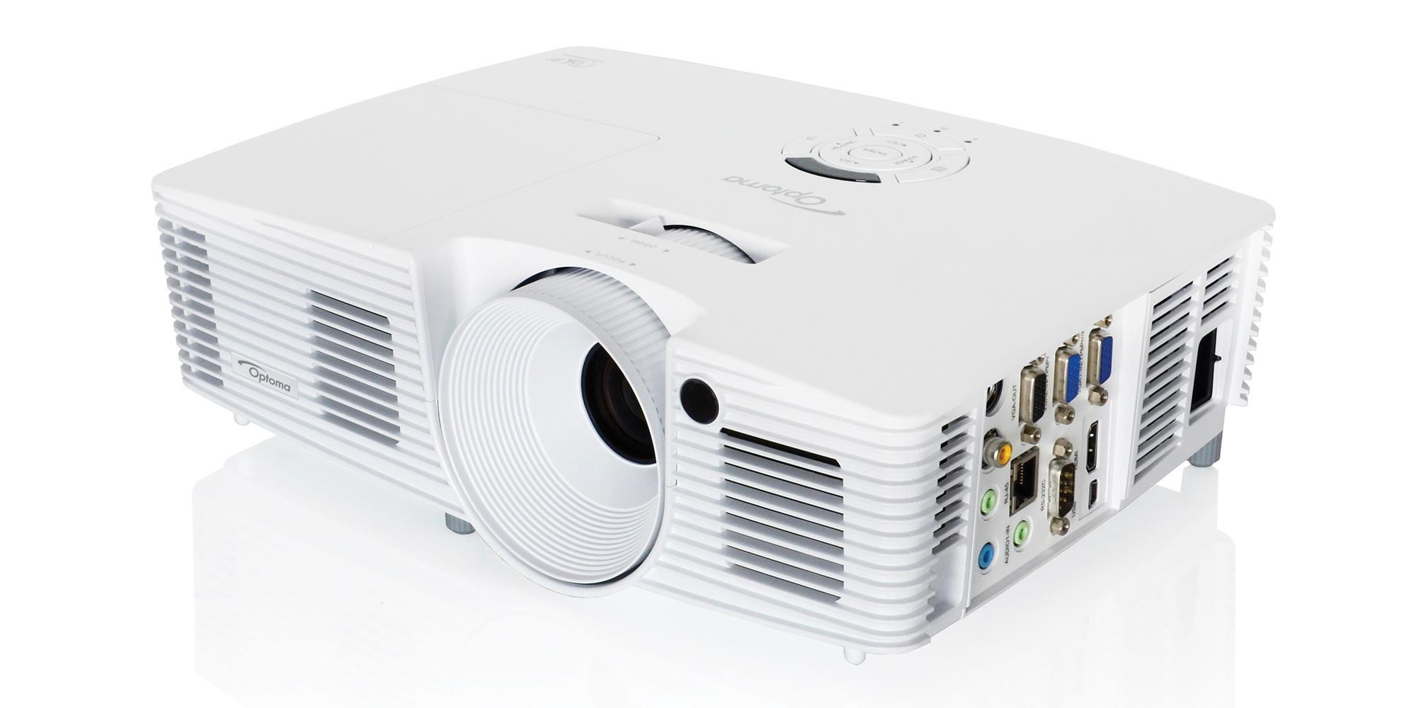 Optoma W402 4500ANSI lumens DLP WXGA (1280x800) 3D Portable projector White data projector