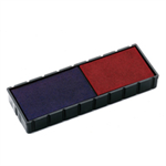 Colop E/12/2 REP PADS BLUE/RED PACK2