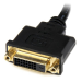 StarTech.com 8in HDMI to DVI-D Video Cable Adapter - HDMI Male to DVI Female HDDVIMF8IN