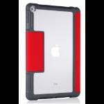 "STM dux 24.6 cm (9.7"") Flip case Grey,Red,Transparent"